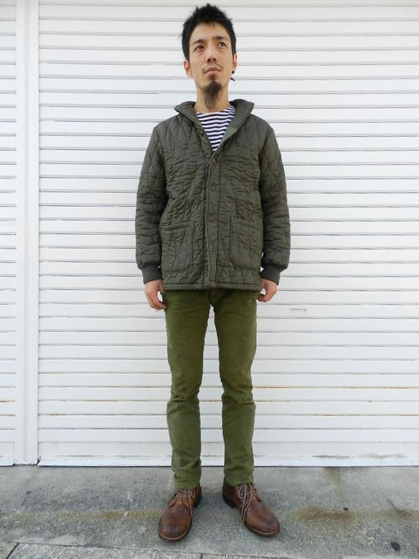 German army quilting jacket Squat version snaps_f0226051_21355966.jpg