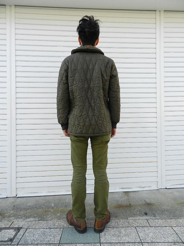 German army quilting jacket Squat version snaps_f0226051_21371670.jpg