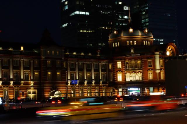 赤レンガ駅舎~夜景~_a0257652_2252772.jpg