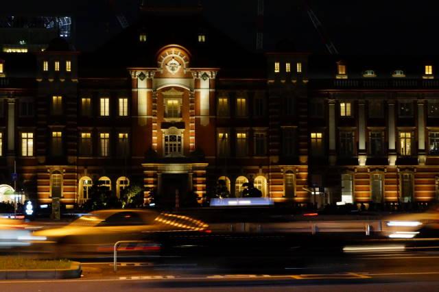 赤レンガ駅舎~夜景~_a0257652_2253326.jpg