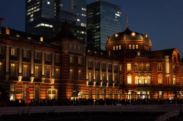 赤レンガ駅舎~夜景~_a0257652_225380.jpg