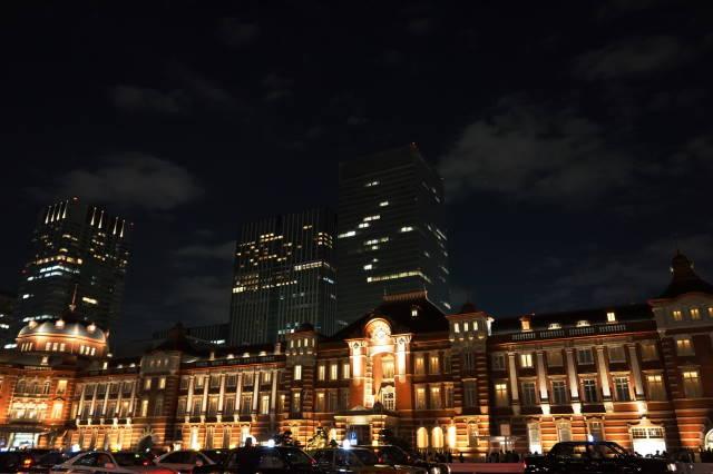 赤レンガ駅舎~夜景~_a0257652_2255764.jpg