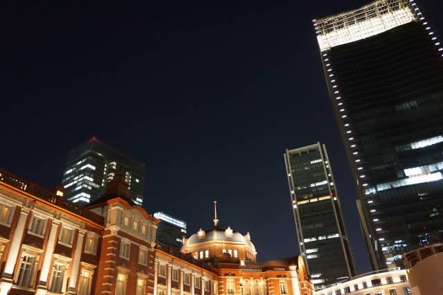 赤レンガ駅舎~夜景~_a0257652_2263223.jpg