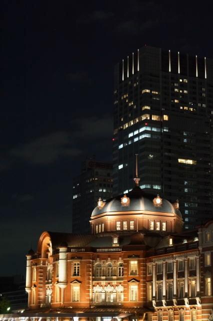 赤レンガ駅舎~夜景~_a0257652_226572.jpg