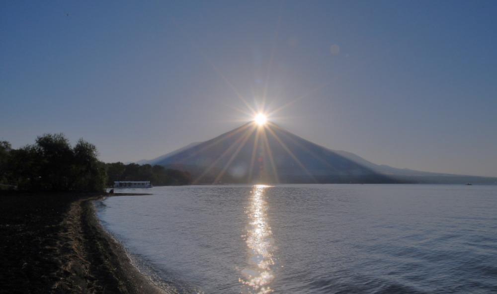 山中湖ダイヤモンド富士_a0150260_15143459.jpg