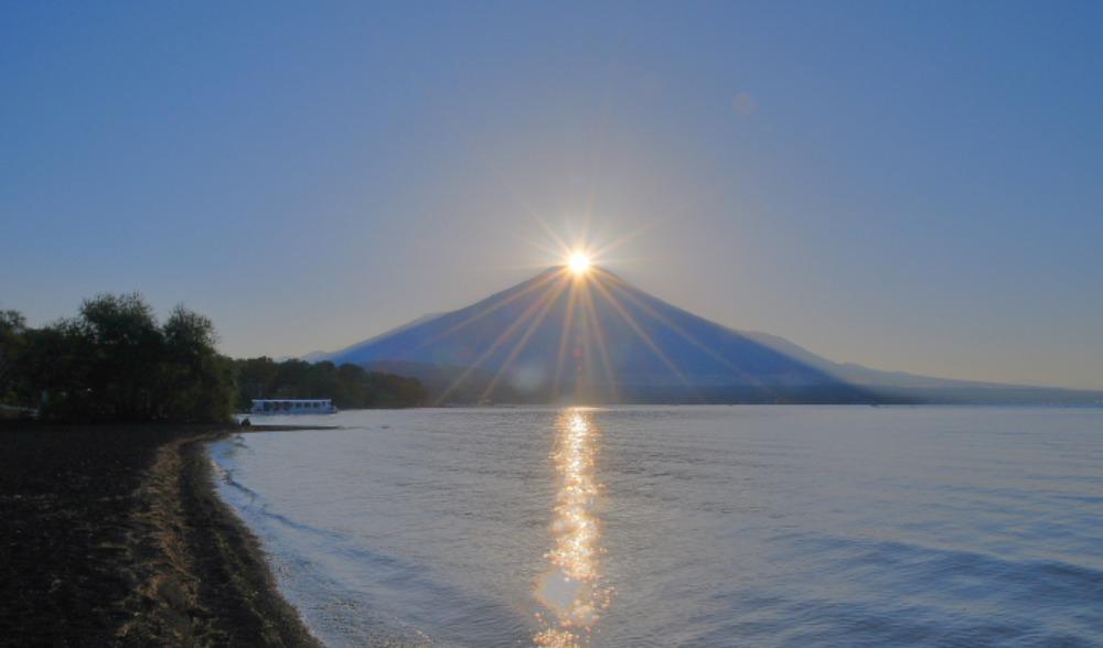 山中湖ダイヤモンド富士_a0150260_15162944.jpg
