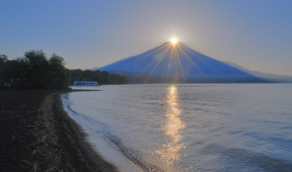 山中湖ダイヤモンド富士_a0150260_15171662.jpg