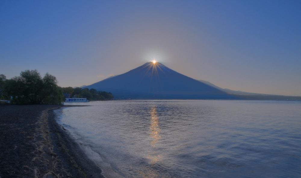 山中湖ダイヤモンド富士_a0150260_1518454.jpg