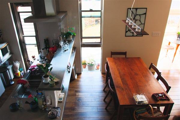 「鶴ヶ島の家」彩りのあるキッチン_f0230666_1415184.jpg