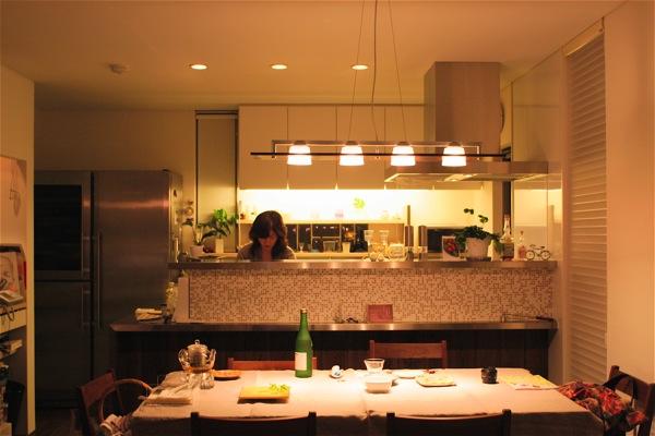 「鶴ヶ島の家」彩りのあるキッチン_f0230666_1454281.jpg