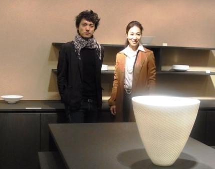 陶磁器家、新里明士さん個展。「新里明士展」_a0138976_17145525.jpg
