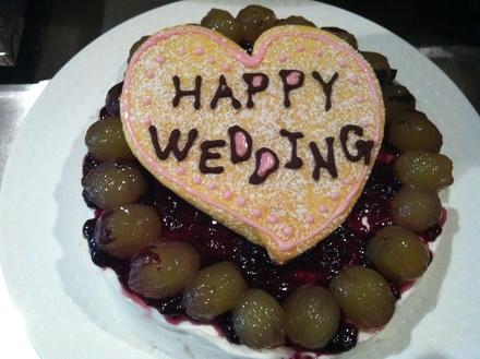 結婚式2次会パーティーの様子_c0128487_209962.jpg