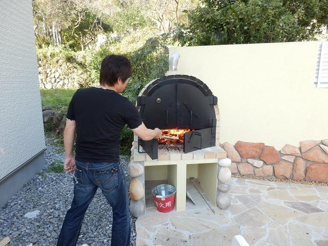 piza窯のお披露目です!!!_e0266187_10222897.jpg
