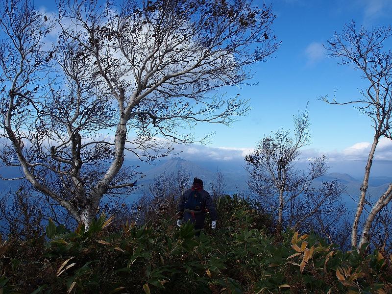 10月21日、風不死岳北尾根コース_f0138096_15233615.jpg