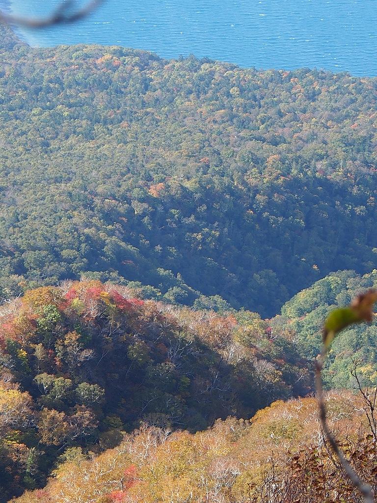 10月21日、風不死岳北尾根コース_f0138096_1524260.jpg