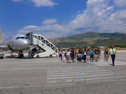 中欧家族旅行2012年08月-第五日目-クロアチアよさらば、ウィーンへ_c0153302_1783397.jpg