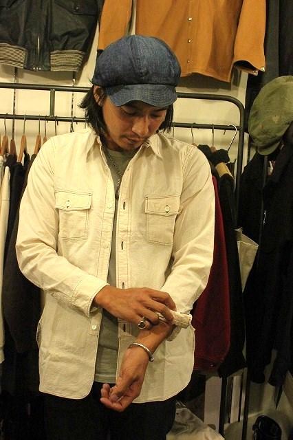 SNUG別注! ワークシャツ!_d0121303_19343464.jpg