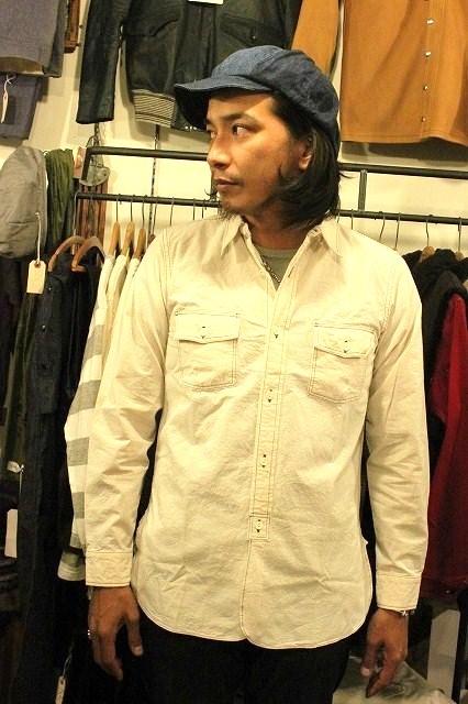 SNUG別注! ワークシャツ!_d0121303_1934547.jpg