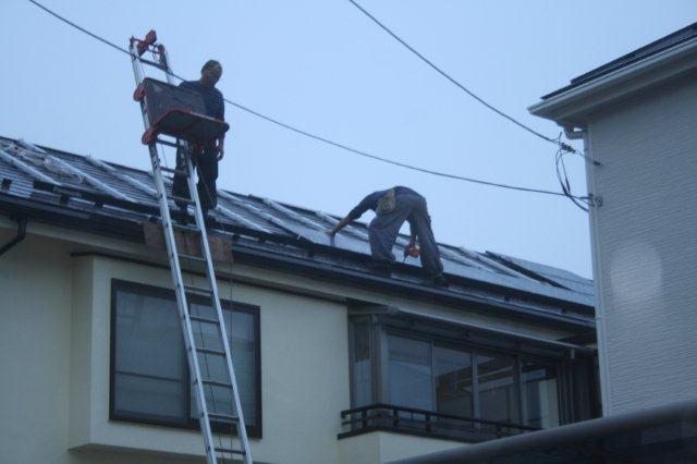 Panasonic太陽光発電とCORONAエコキュート 4(小平市)_e0207151_1813576.jpg
