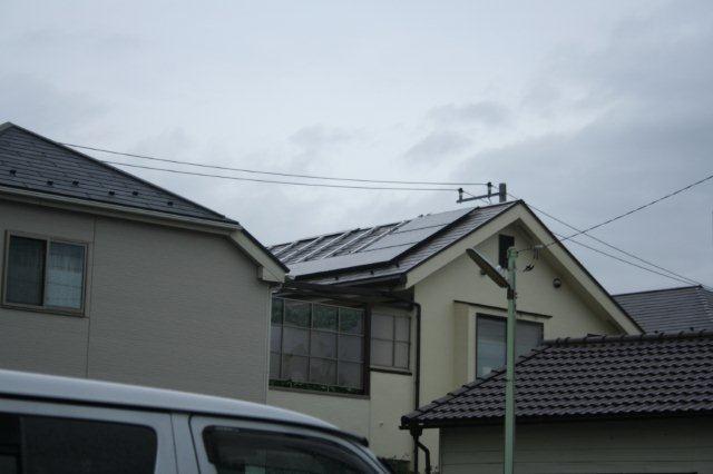 Panasonic太陽光発電とCORONAエコキュート 4(小平市)_e0207151_1814756.jpg