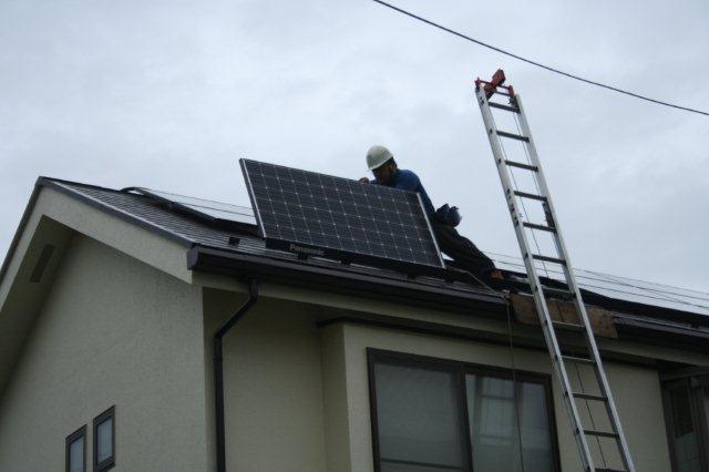 Panasonic太陽光発電とCORONAエコキュート 4(小平市)_e0207151_18203751.jpg