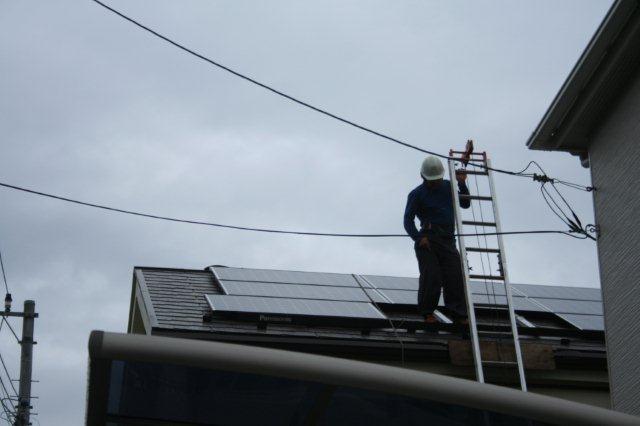 Panasonic太陽光発電とCORONAエコキュート 4(小平市)_e0207151_18222943.jpg