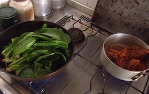 青菜で超簡単イタリアン_b0282654_12143321.jpg
