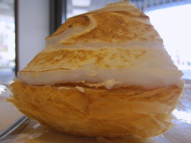 イタリアントマトCafe'Jr.@スペイン産地中海レモンのパイ_b0167979_2243769.jpg