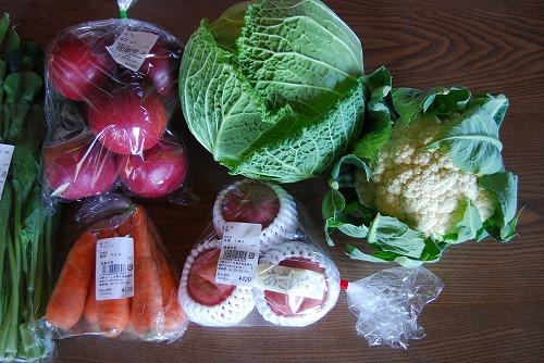 裏磐梯:ふくしま直売所の野菜_c0124100_0221086.jpg