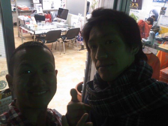 キャラバン ゼン鶴様ご来店(^^)_b0127002_1849427.jpg