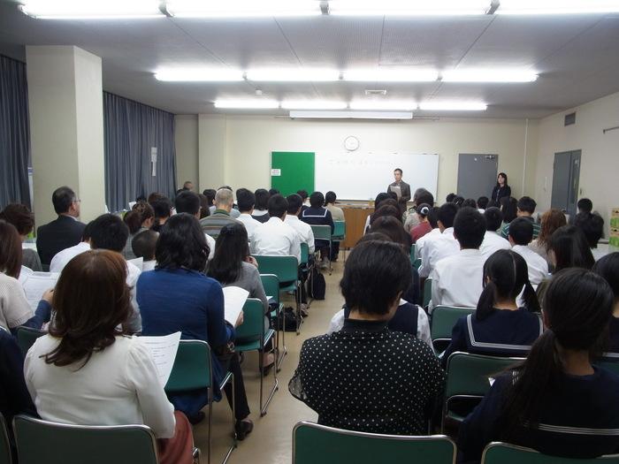2013年度高校進学説明会のようす(第1部)_d0116009_823212.jpg