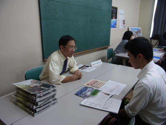 2013年度高校進学説明会のようす(第1部)_d0116009_8332059.jpg
