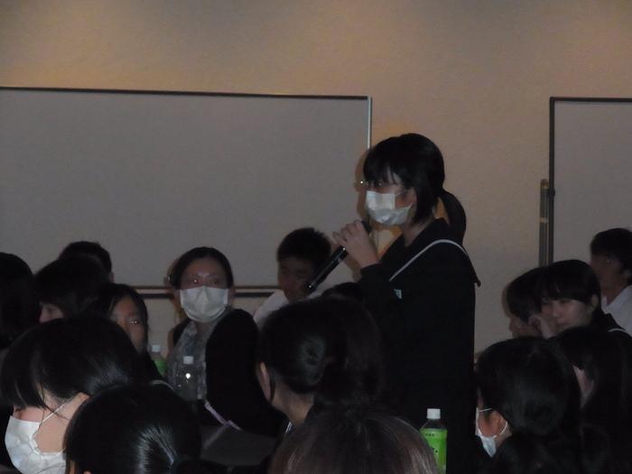 2013年度高校進学説明会のようす(第2部)_d0116009_92573.jpg