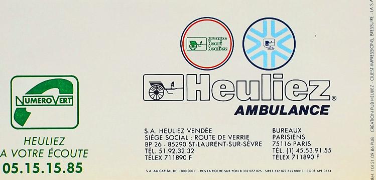 """AMBULANCE-HEULIEZ\""""QUASAR\""""_b0242510_22532778.jpg"""