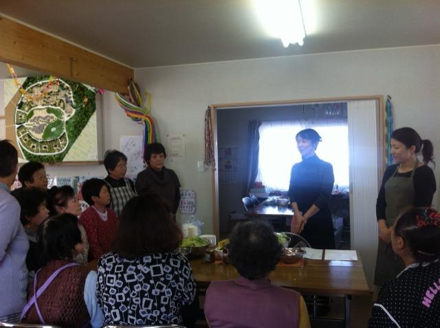 料理教室&リンパマッサージのコラボレッスン @仙台_f0141419_21344456.jpg