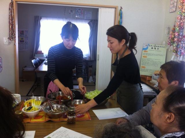 料理教室&リンパマッサージのコラボレッスン @仙台_f0141419_21352244.jpg