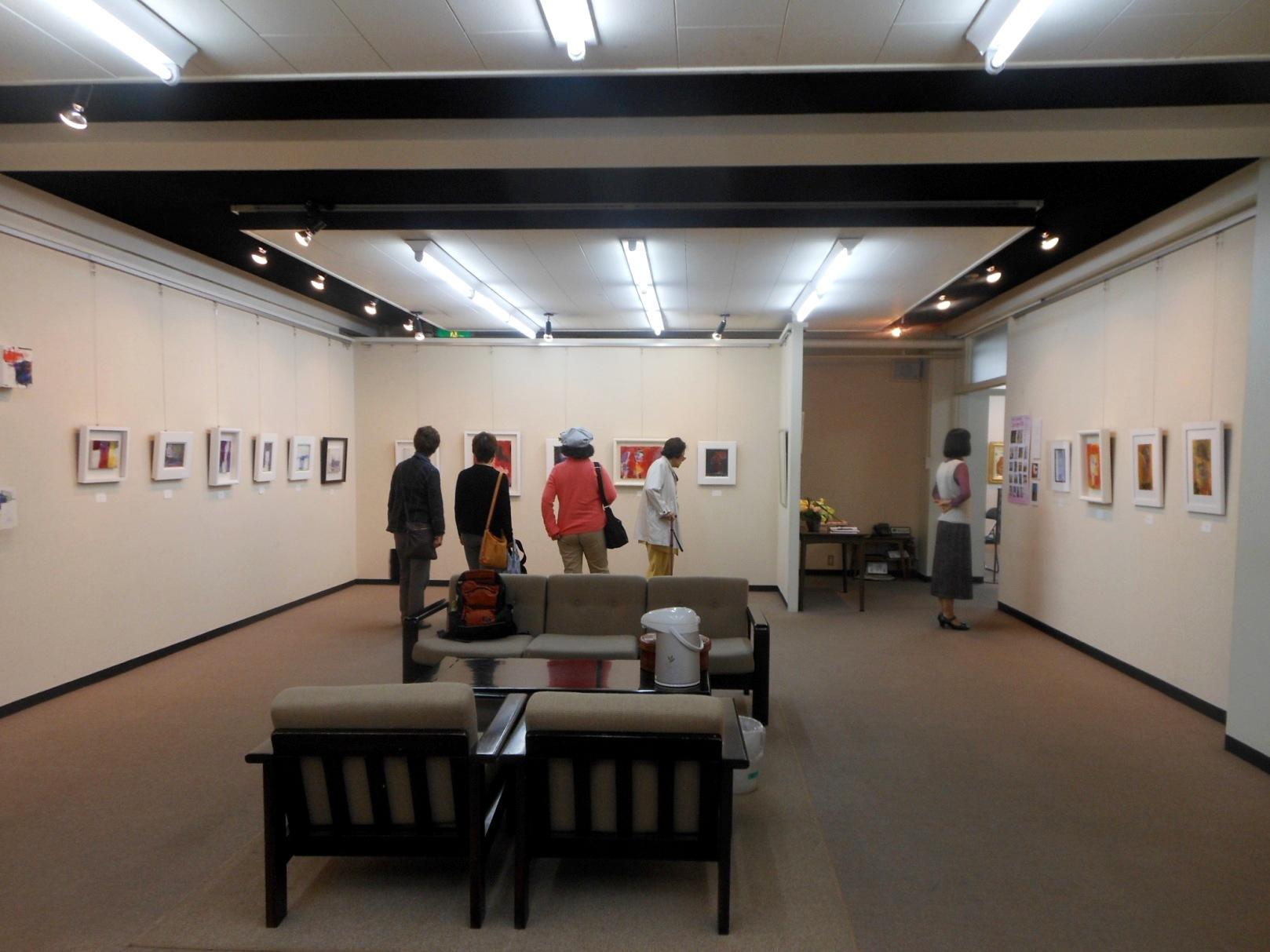 1843) 「佐藤愛子・作品展」 時計台 終了10月1日(月)~10月6日(土)  _f0126829_20325825.jpg