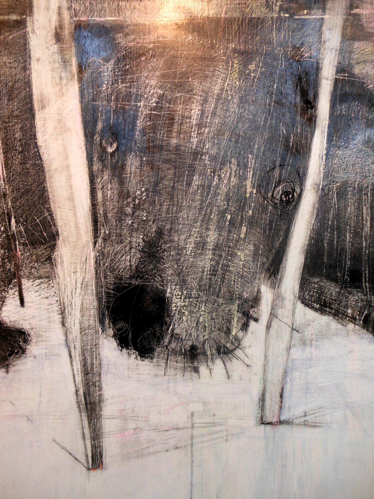 1843) 「佐藤愛子・作品展」 時計台 終了10月1日(月)~10月6日(土)  _f0126829_20354041.jpg