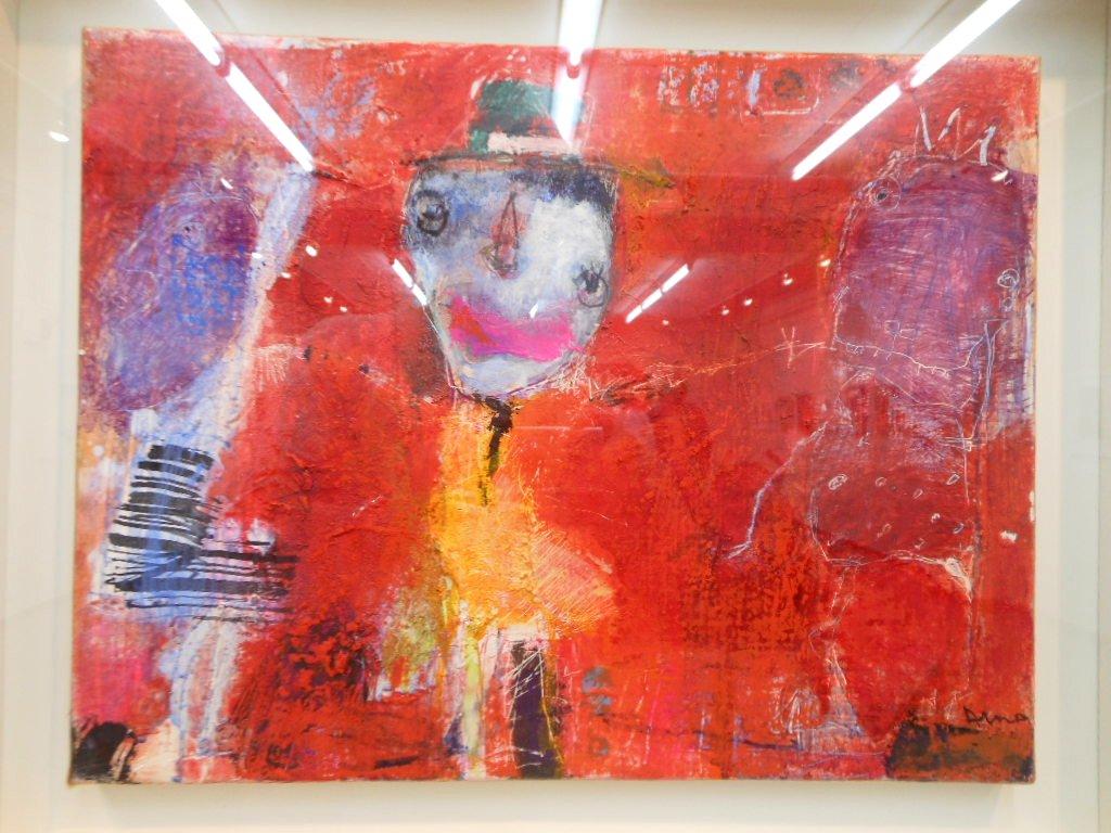 1843) 「佐藤愛子・作品展」 時計台 終了10月1日(月)~10月6日(土)  _f0126829_23494061.jpg