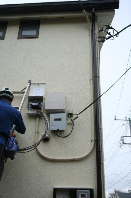 Panasonic太陽光発電とCORONAエコキュート 5(小平市)_e0207151_17424085.jpg