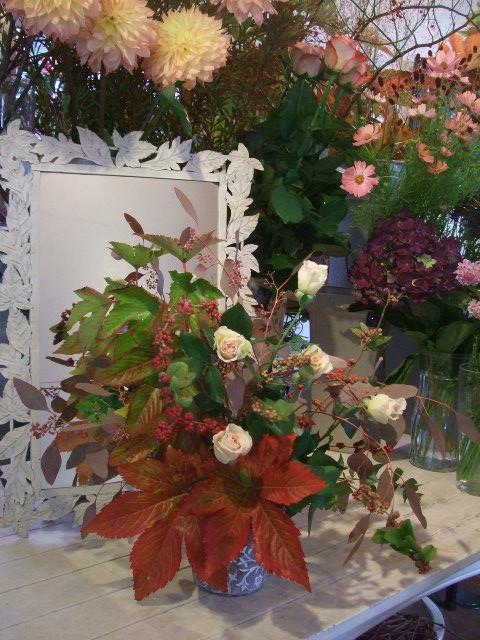 オークリーフ花の教室(北条さんの作品)_f0049672_18153762.jpg