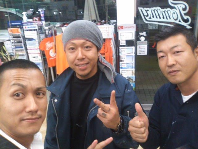洋介アニキが今野さんとご来店(^^)_b0127002_1874150.jpg