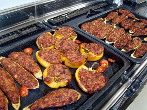 肉詰めの野菜&レモンケーキ_a0063103_21153882.jpg
