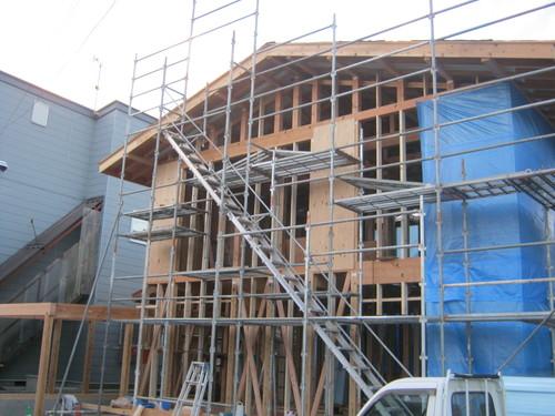 大町K邸新築工事  進行状況_c0218716_1726112.jpg