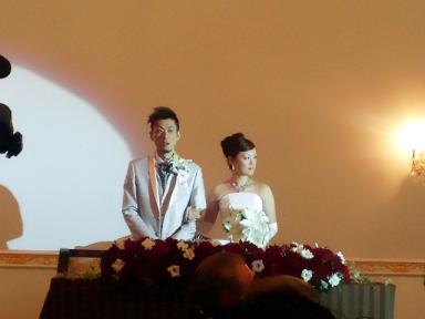 結婚式 inつくば_c0181538_14412065.jpg