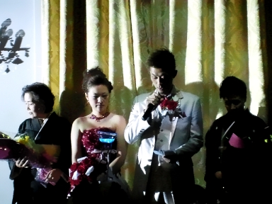 結婚式 inつくば_c0181538_1452555.jpg
