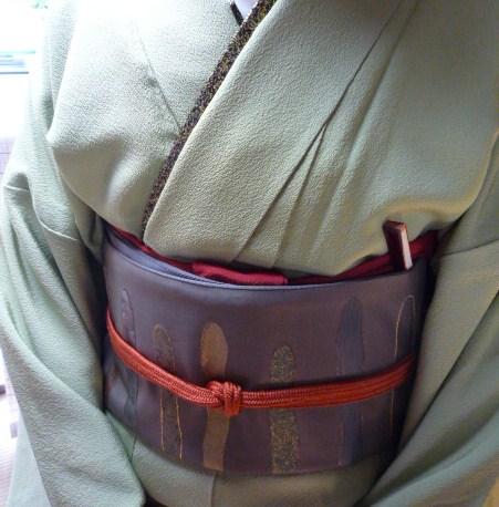 加藤ますえさん・色無地の着姿2パターン。_f0181251_17264196.jpg