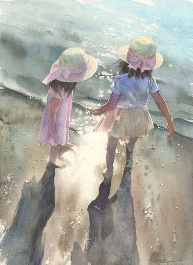 海と子供_f0176370_22192271.jpg