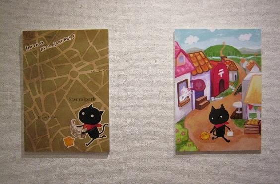 「東京ねこ街案内展」開催  その2_e0134502_1340438.jpg