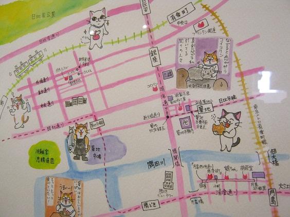 「東京ねこ街案内展」開催  その2_e0134502_13415576.jpg